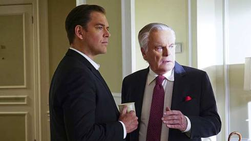Robert Wagner, NCIS. Michael Weatherly