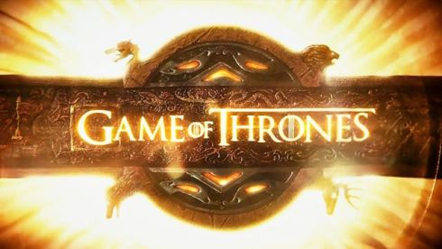 game of thrones logo hbo main titles