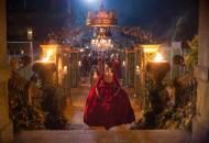 red dress Caitriona Balfe Outlander Starz