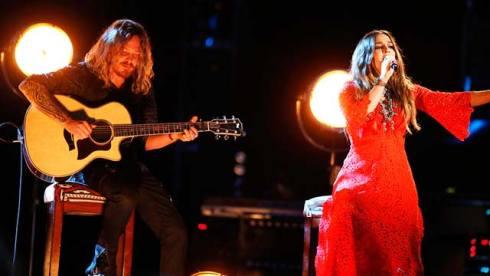 Alisan Porter, The Voice, Christina Aguilera