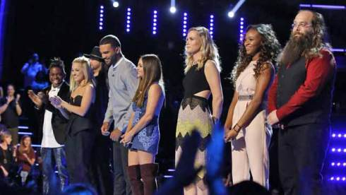 The Voice, Top 8