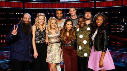 The Voice Top 9
