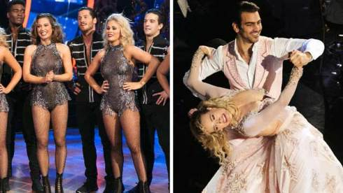 ginger zee paige vanzant nyle dimarco dancing with the stars dwts