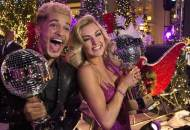 dancing with the stars jordan fisher mirror ball trophy