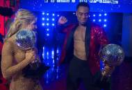 dancing with the stars rashad jennings mirror ball trophy dwts