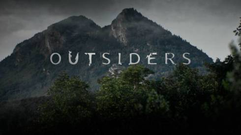 Outsiders Logo Season 1 WGN America