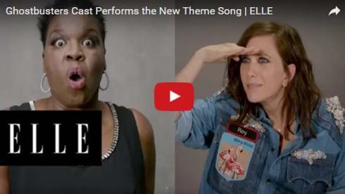ghostbusters theme song parody kristen wiig leslie jones