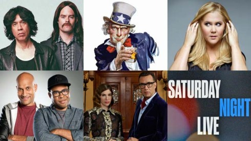 Variety Sketch Series, Inside Amy Schumer, Key and Peele, SNL