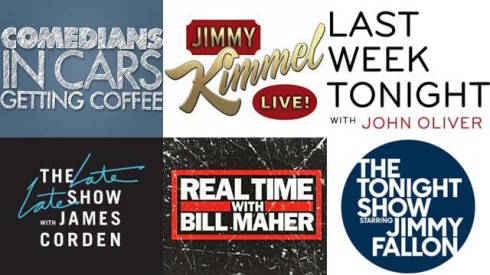 Variety Talk Series, Jerry Seinfeld, Jimmy Kimmel, John Oliver, James Corden, Jimmy Fallon, Bill Maher