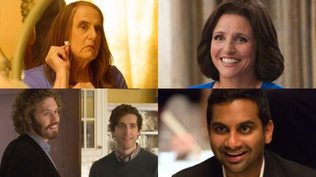 emmys 2016 transparent veep silicon valley master of none