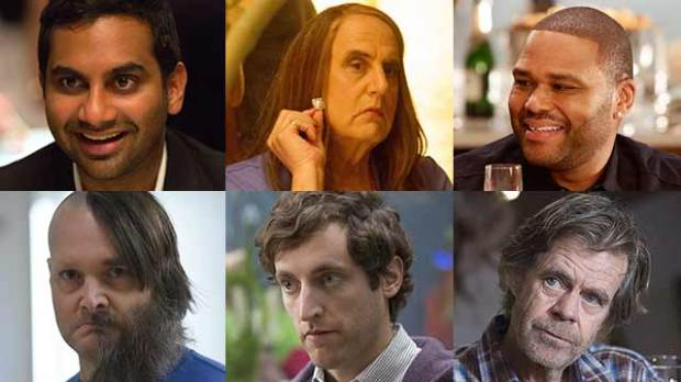emmys 2016 jeffrey tambor aziz ansari will forte thomas middleditch
