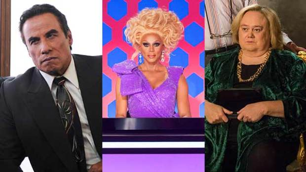 John Travolta RuPaul Charles Louie Anderson emmy nominations 2016
