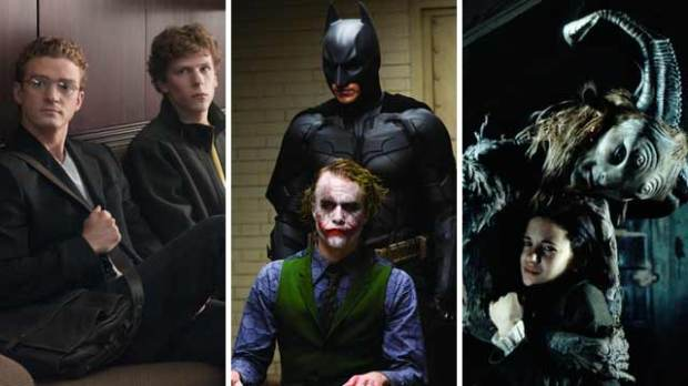 the social network the dark knight pans labyrinth