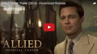 allied trailer brad pitt
