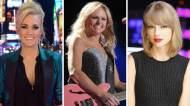 Carrie Underwood Miranda Lambert Taylor Swift
