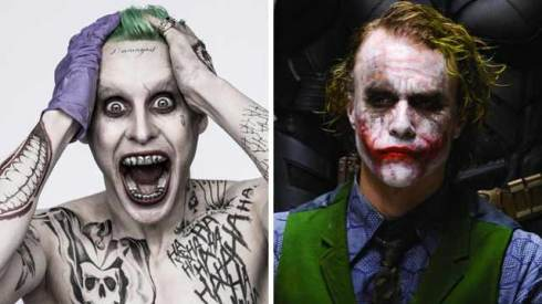 jared leto suicide squad heath ledger the dark knight the joker