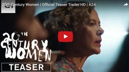 20th century women trailer annette bening