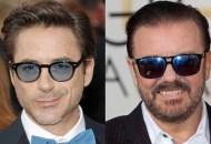Robert Downey Jr., Ricky Gervais