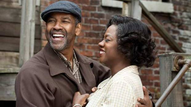 Fences stars Denzel Washington, Viola Davis