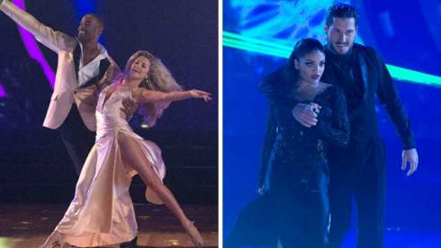 calvin johnson laurie hernandez dancing with the stars dwts