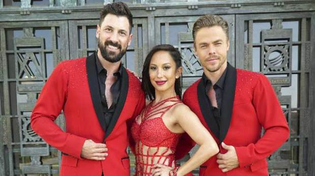 dancing with the stars derek hough maksim chmerkovskiy cheryl burke dwts