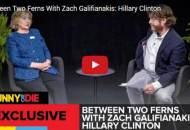 hillary clinton between two ferns with zach galifiankis