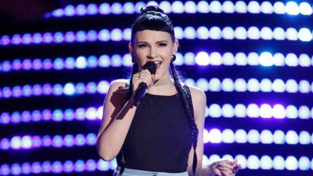 Belle Jewel on The Voice