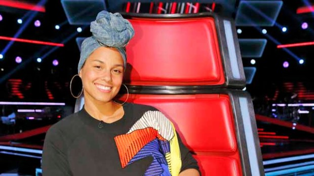 Alicia Keys on The Voice