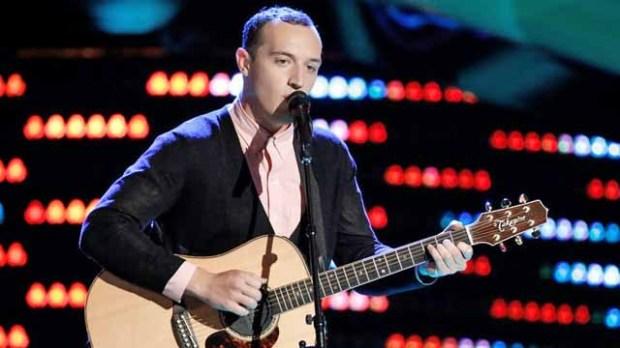 Aaron Gibson on The Voice