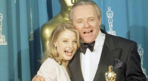 'Silence of the Lambs' Oscar winners Anthony Hopkins and Jodie Foster