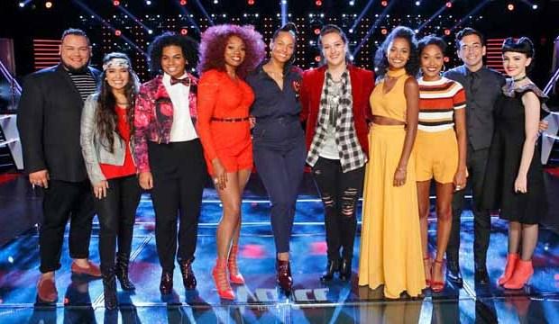 Team Alicia Keys for The Voice Season 11