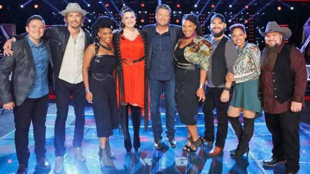 Team Blake Shelton on The Voice Season 11