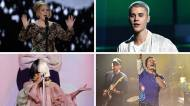 adele justin bieber sia coldplay grammy awards