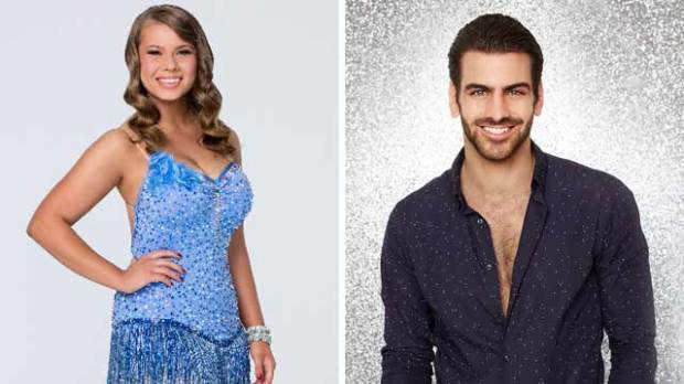 dancing with the stars bindi irwin nyle dimarco dwts