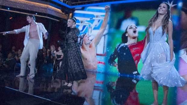 Ryan Lochte Laurie Hernandez Jana Kramer Dancing with the Stars DWTS