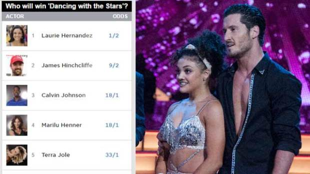 dancing with the stars laurie hernandez dwts