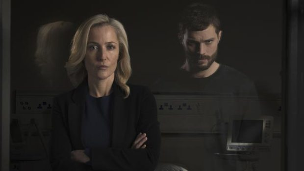 jamie dornan gillian anderson the fall