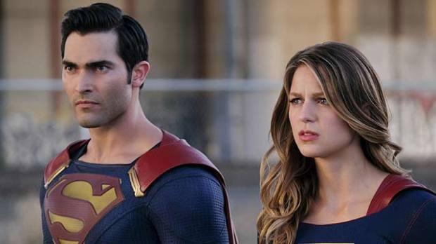 tyler hoechlin superman melissa benoist supergirl