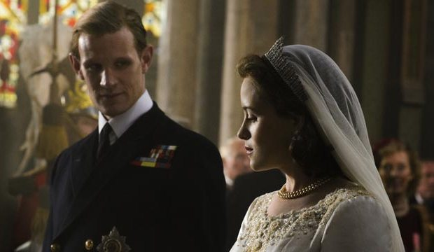 the crown matt smith claire foy netflix