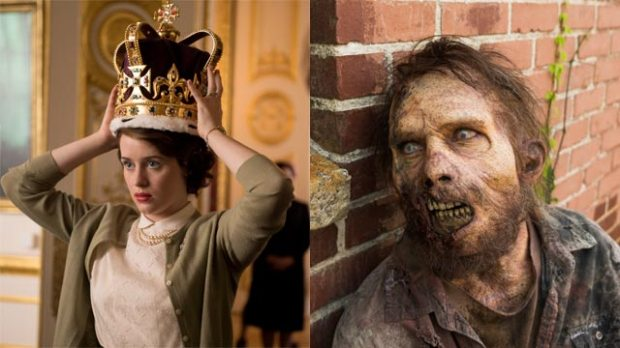 the-crown-netflix-the-walking-dead-amc