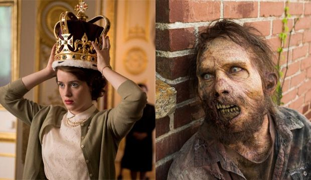 the-crown-netflix-the-walking-dead-amc