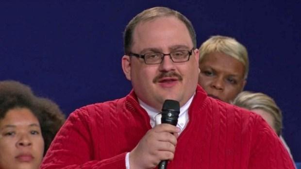 Ken Bone, town hall debate questioner
