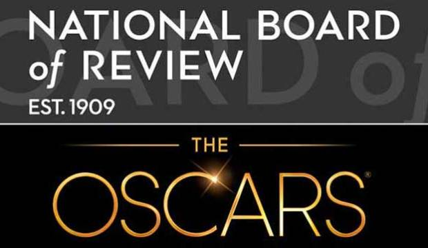 National Board of Review and Oscar logos