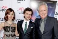 'Rules Don't Apply' Lily Collins, Alden Ehrenreich, Warren Beatty