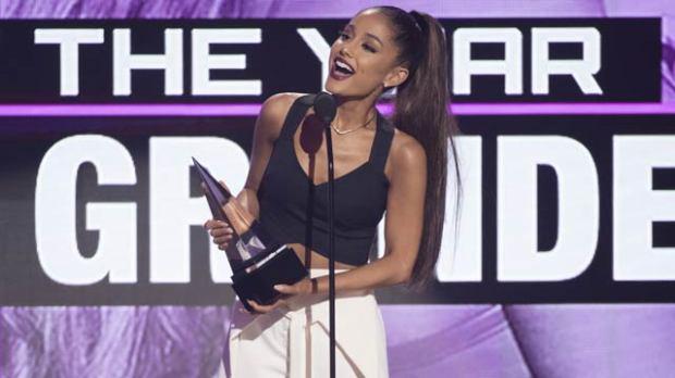 ariana grande amas 2016 american music awards