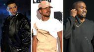 drake chance the rapper kanye west grammy awards