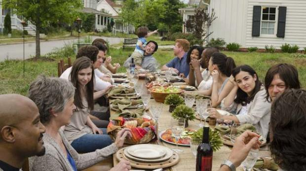 'The Walking Dead' Thanksgiving