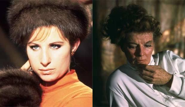 oscar best actress barbra streisand katharine hepburn funny girl the lion in winter