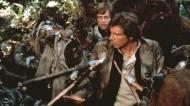 harrison ford mark hamill star wars return of the jedi ewoks