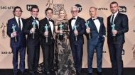 spotlight cast mark ruffalo michael keaton sag awards